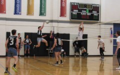 Boys volleyball game serves success