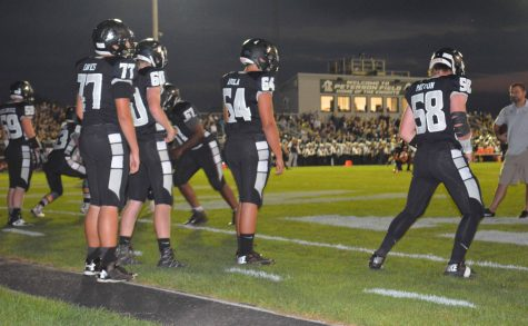 Knights battle DeKalb in the homecoming game