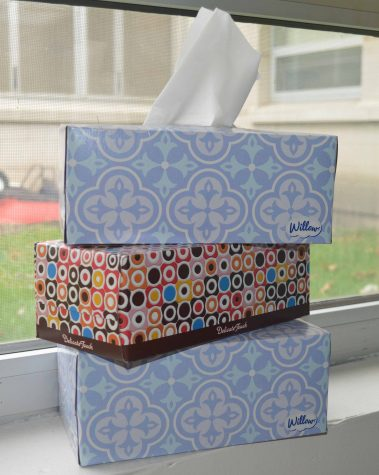 Tissue boxes can no longer earn you an A