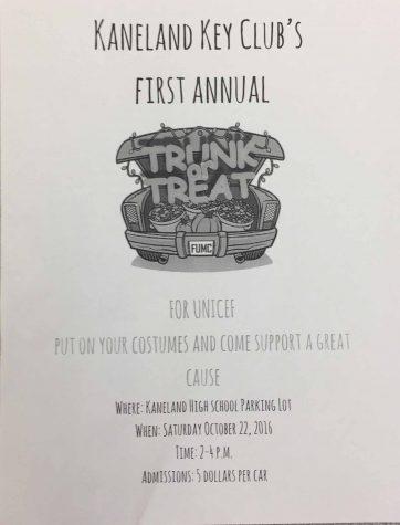 Key Club host Trunk or Treat in the high school parking lot