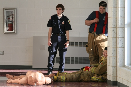 Combat Challenge prepares Fox Valley students for 'mental toughness' of firefighting