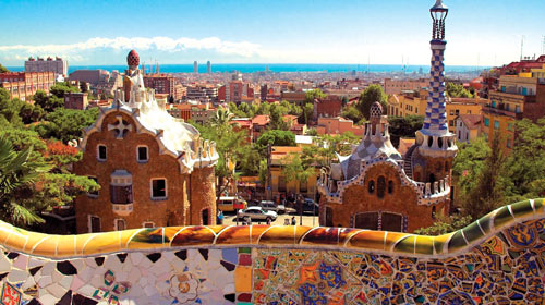 Barcelona is one of several destinations students will visit during spring break. Photo courtesy EF Tours.
