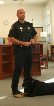 Drug dog's visit educates Kaneland students about consequences of drugs
