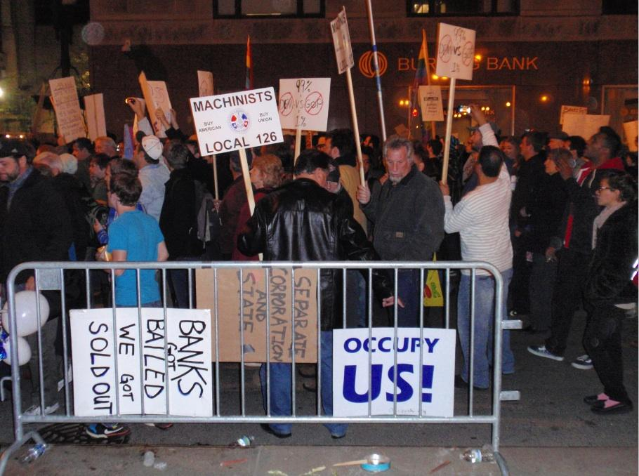 Occupy protests spread globally