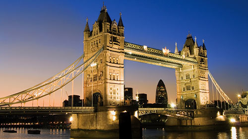 The Tower of London is one of several classic London sites students will visit next spring on the English Department trip to London and Amsterdam. Photo courtesy EF Tours.