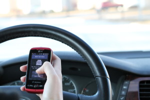 Texting and driving can be lethal, causing many deaths a year to both pedestrians and other drivers. Photo by Amelia Likeum.