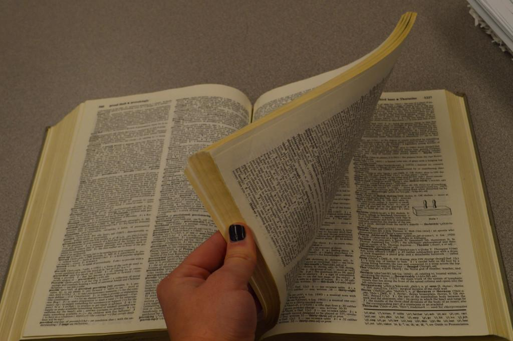 The dictionary is full of words people would never imagine.