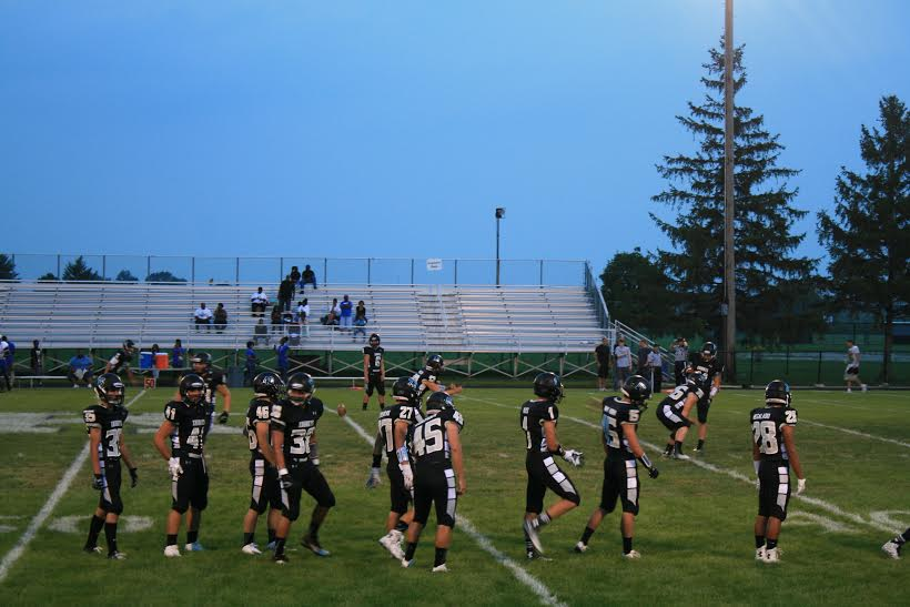 Knights football team victorious in their second game