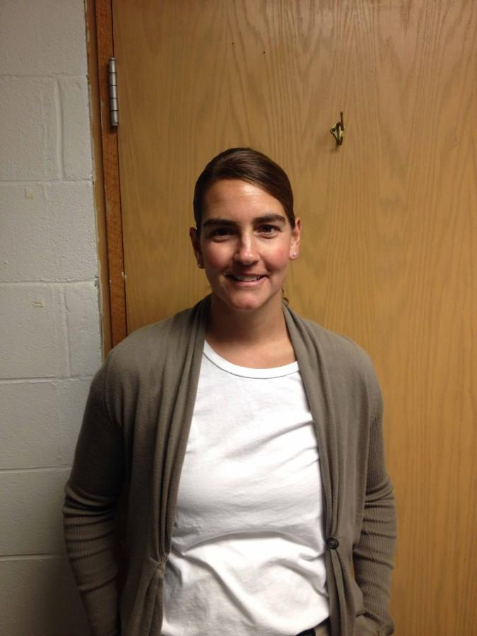 Karin Marshall chose to work at Kaneland High School because she enjoys the environment.