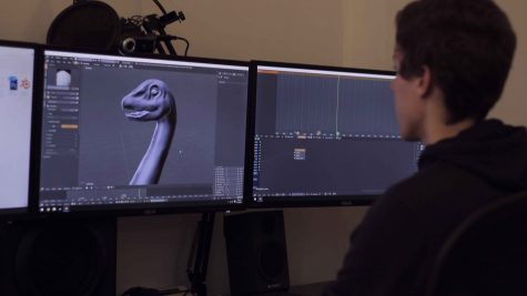 Blender 3D is a software that allows you to sculpt 3D characters, animate model, develop CG scenes, create simple games, and much more. Wilk has been using Blender since 2012.