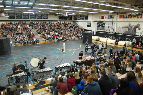 Winter assembly ends in success