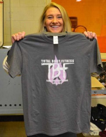 Mackenzie Mulder designs new shirts for total body fitness