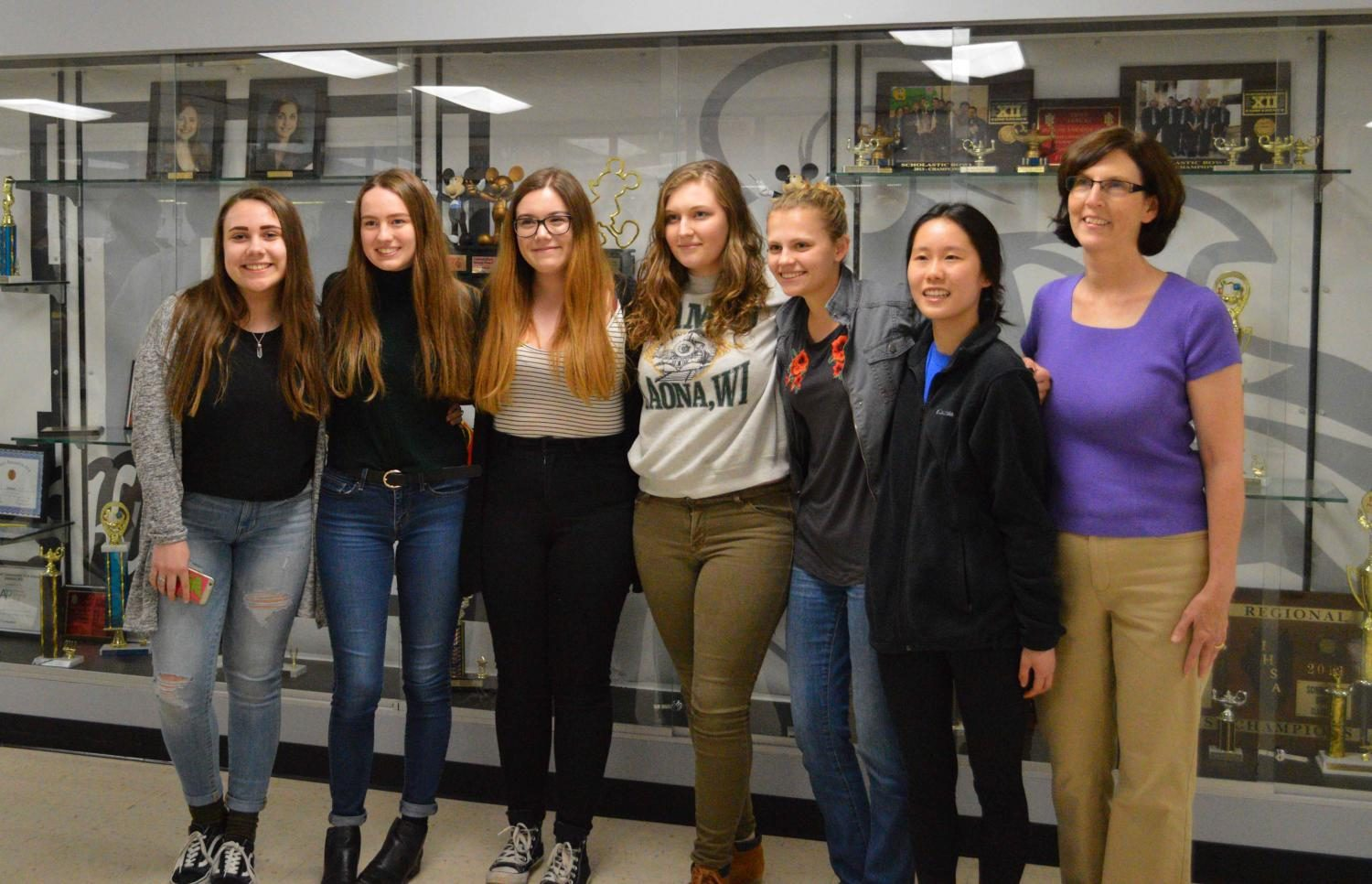 For the first time, the Kaneland Krier will have six students competing in the state competition which will be held Friday April 28.