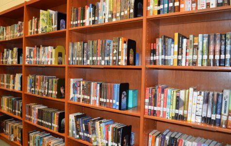 The Kaneland High School library, is filled with books. If you are looking for a certain book,the library catalog is available.