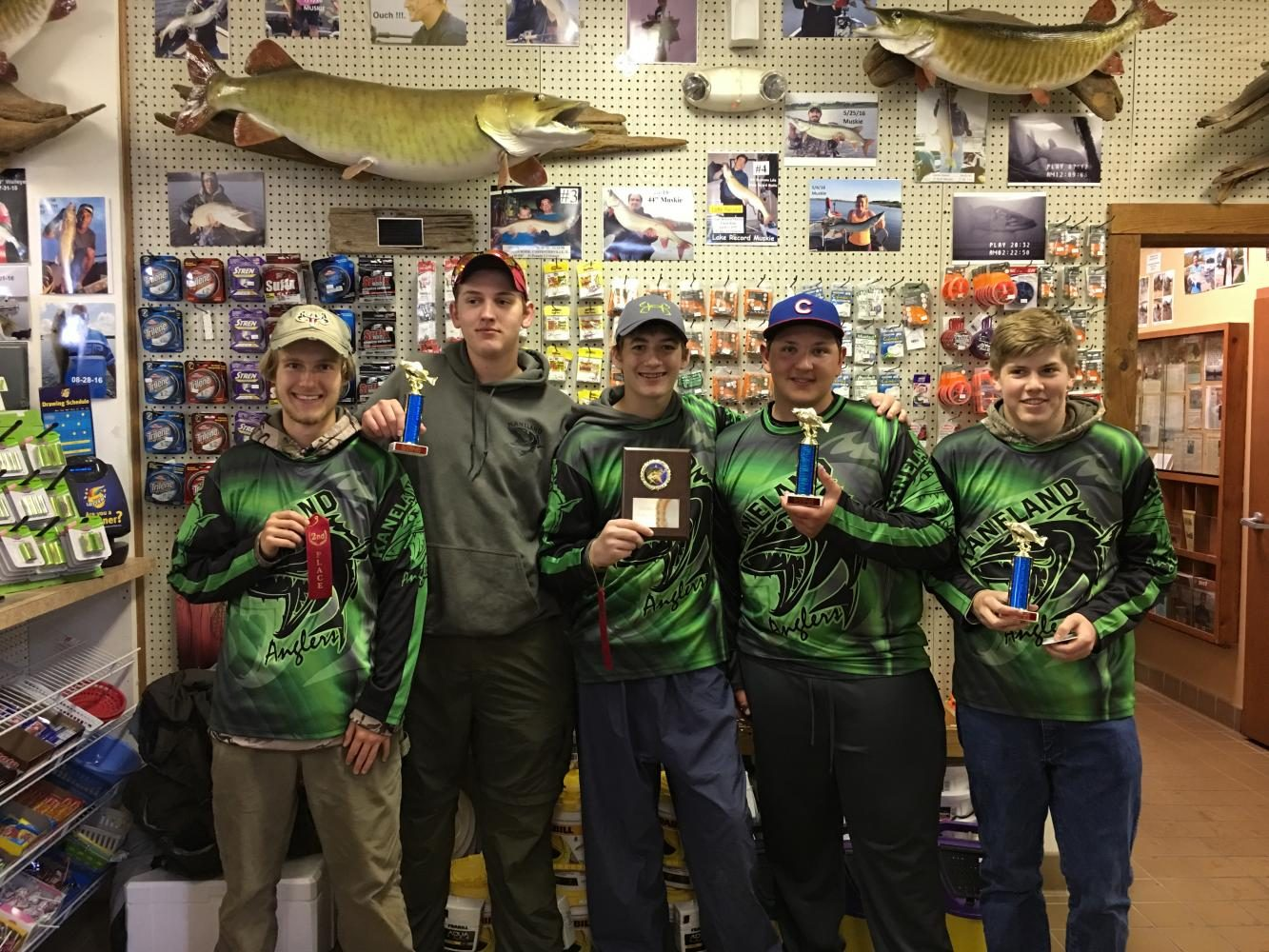 Bass Fishing Club Casts into Their Season