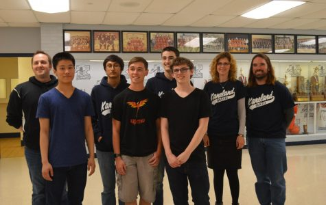Five Mathletes will compete in state competition
