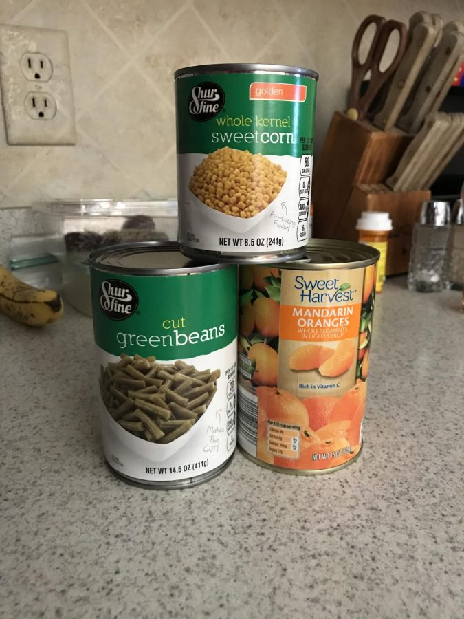 New Food Drive Tradition
