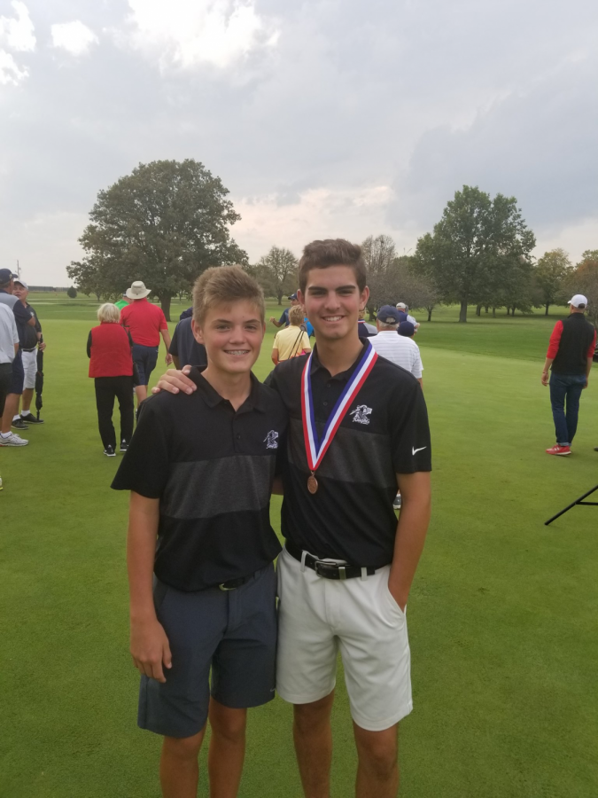 Golf Shoots a Hole-in-One at State