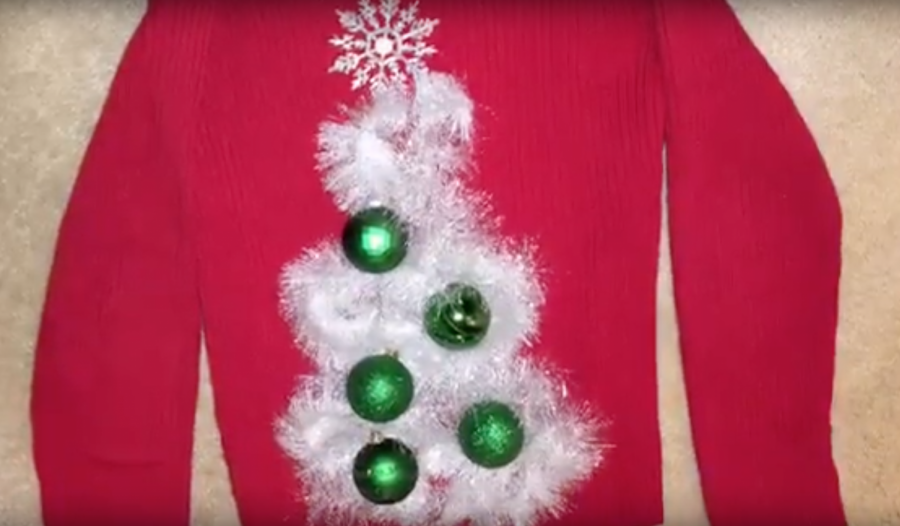 December 12: Here is a Christmas sweater (tree)t
