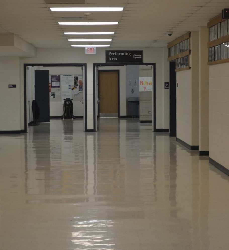 A spent shell casing was found in the hallway leading to the cafeteria causing a soft lockdown to be put in place.
