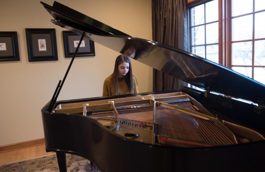 Aspiring to be a pianist