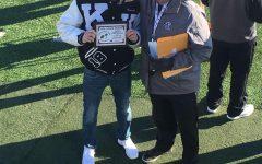 Scoring touchdowns and winning awards