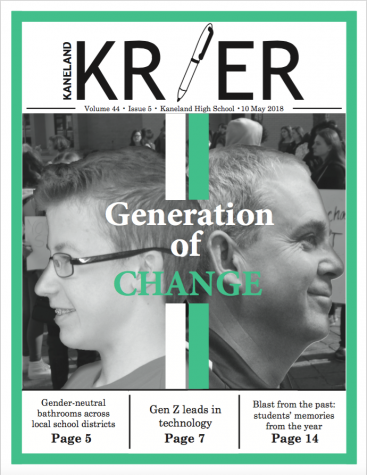 Kaneland Krier: First Day of School Supplement