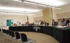 Board meeting discusses gym renovations