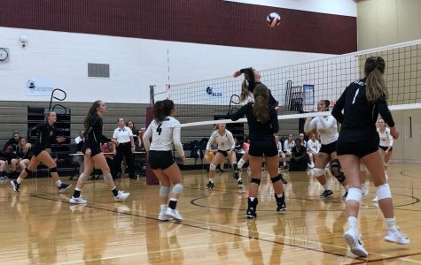 Volleyball Defeats the Sycamore Spartans