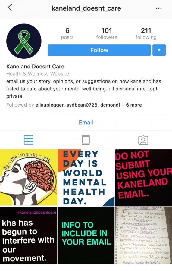 kaneland doesnt care