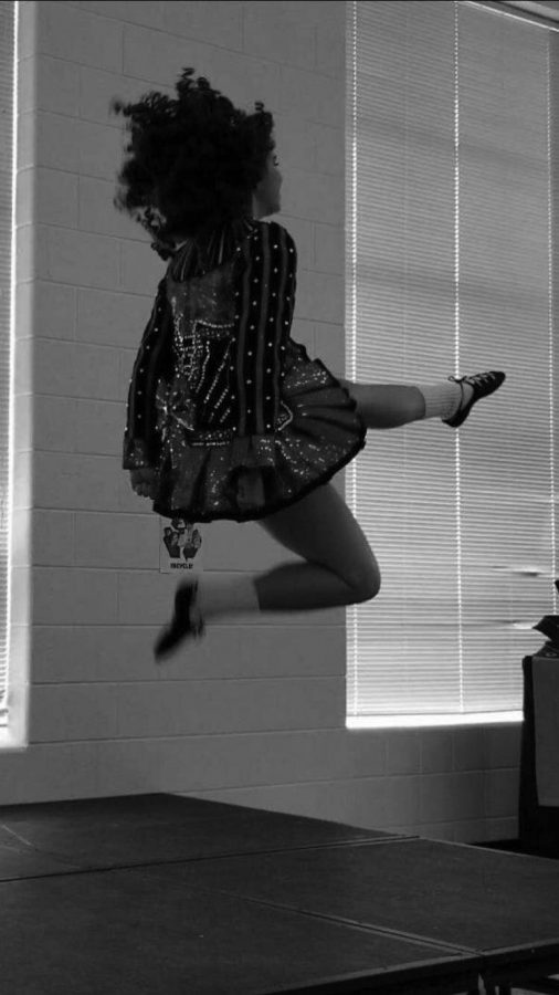 Senior Sarah O'Shea has done Irish dancing competitively from a young age.