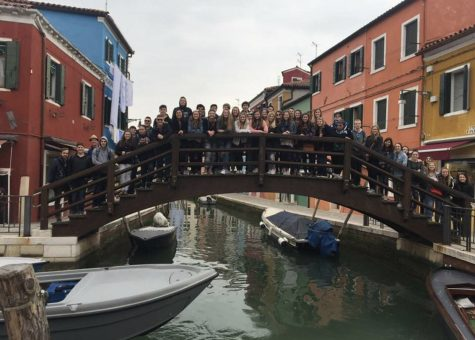 On the 2018 spring break trip students travelled to Spain and Italy and were able to visit eight cities in only ten days.