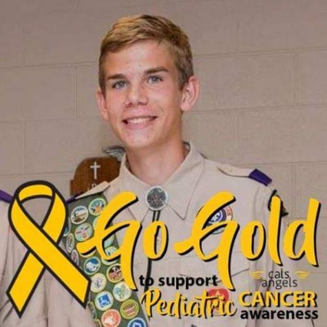 Seth Nosek is running the 5k for not only his eagle scout project, but a friend who was diagnosed with cancer as well.