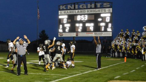 Knights Defeat Hinsdale South in First Game of the Season