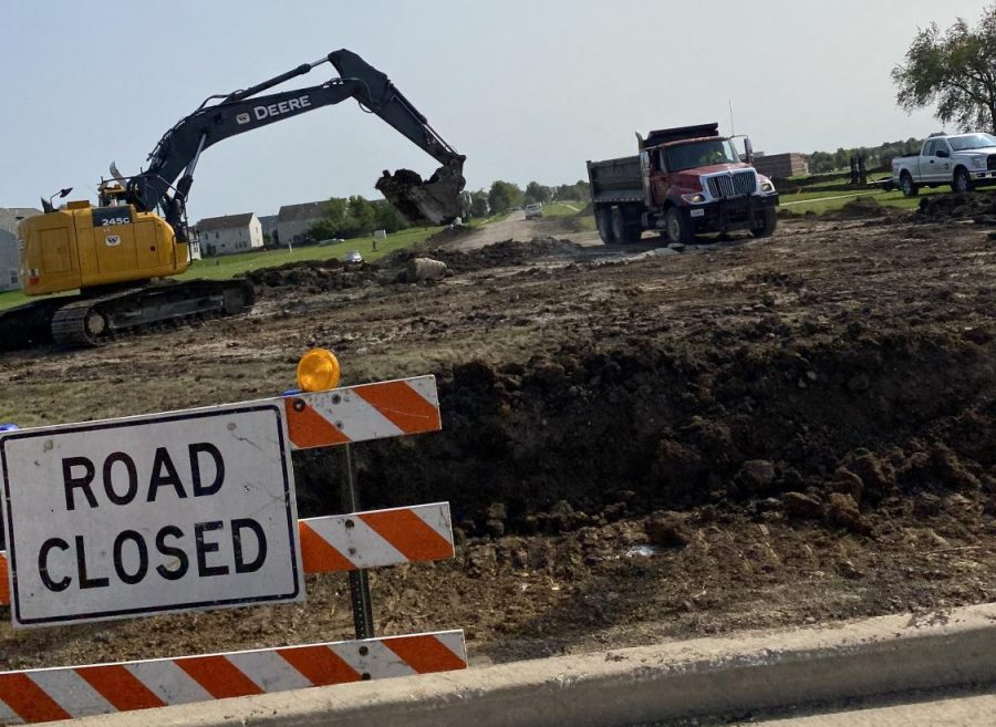 Construction on Anderson Rd. has been ongoing since the summer. This extension benefits emergency responders, as well as the residents in the area.