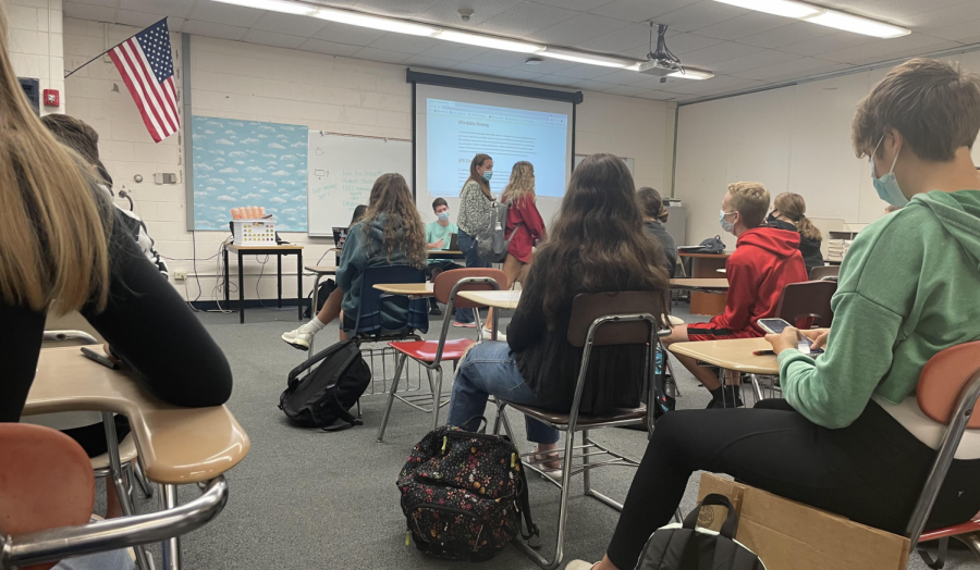 The Key Club meeting on September 1 involved discussion about how their fundraiser for the Midwest Shelters for Homeless Veterans will function and who will be in charge of it. The fundraiser will be run by senior and Key Club vice president Aidan Pawlak, who will be accepting as much help as he can to make sure there are as many donations as possible for the Shelter.